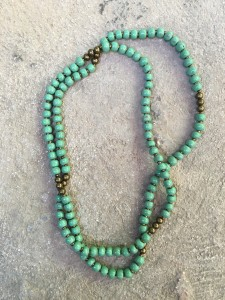 Callie Jo Necklace- Mint